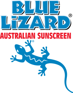 BLUE LIZARD® Logo - Vertical